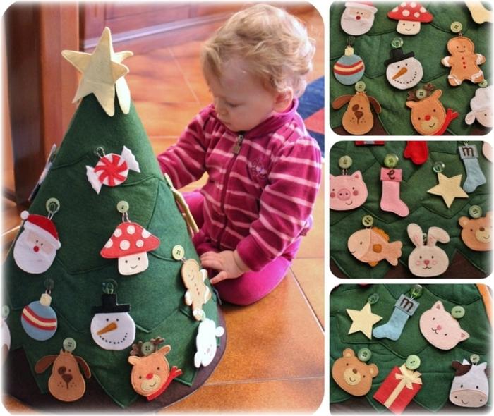Новогодняя игрушка своими руками для ребенка