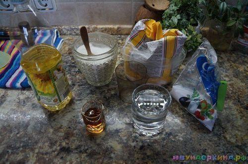 Хворост на минералке и водке - рецепт пошаговый с фото