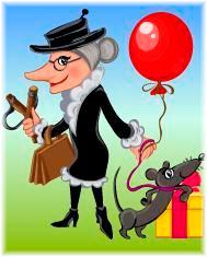 Поздравление с днем рождения от шапокляк
