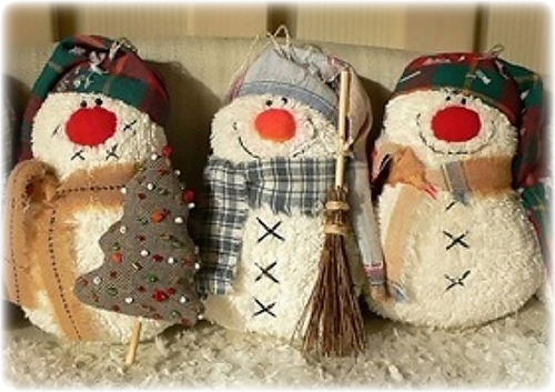 Снеговики своими руками из носка