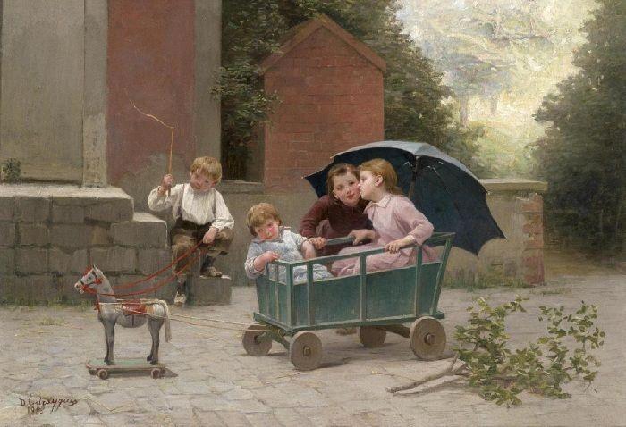 Charles Bertrand d'Entraygues (1850-1929). Франция.
