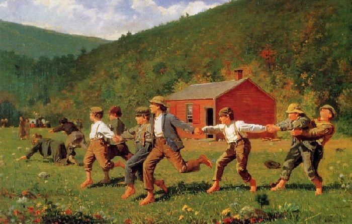 Уинслоу Хомер (1836–1910). Америка. «Хлыст». 1872 год.