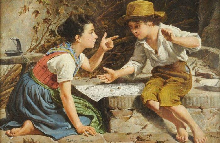 Во что играли дети 150 лет тому назад