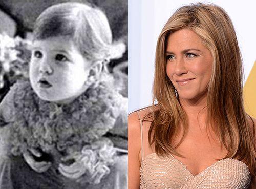 Какими знаменитости были в детстве.